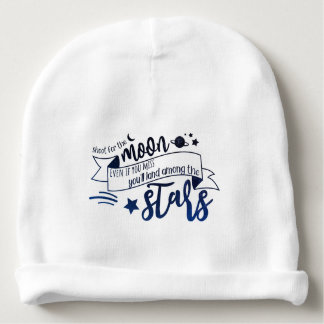 Shoot for the Moon Baby Beanie