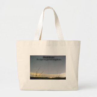 Shoot for the moon canvas bags