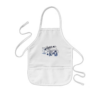 Shoot for the Moon Kids Apron