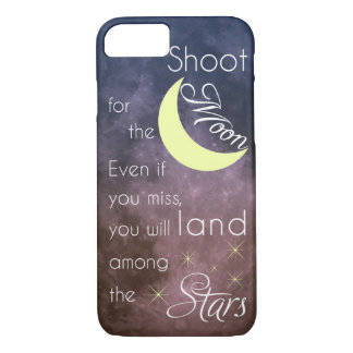 Shoot for the Moon motivational case