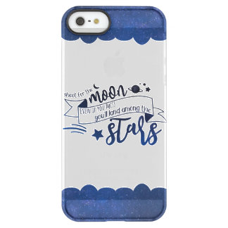 Shoot for the Moon Permafrost® iPhone SE/5/5s Case