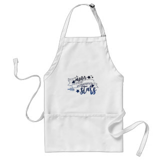 Shoot for the Moon Standard Apron