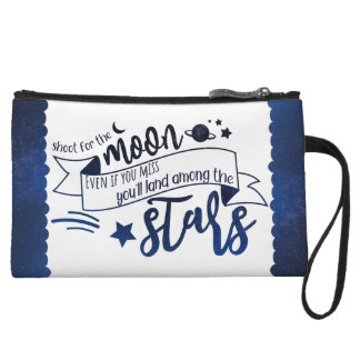 Shoot for the Moon Wristlet