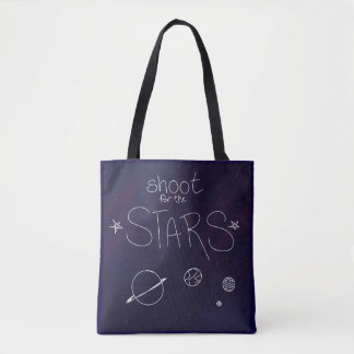 Shoot For The Stars Tote Bag