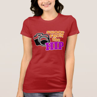 'Shoot from the Hip' Photographer's T-Shirt