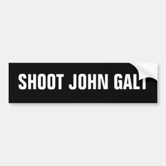 Shoot John Galt Bumper Sticker
