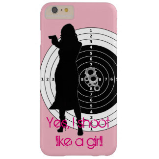 Shoot Like a Girl Barely There iPhone 6 Plus Case