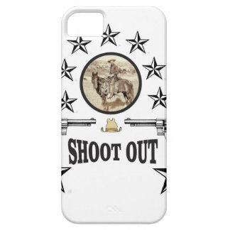 shoot out western art iPhone 5 cover