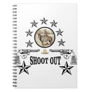shoot out western art notebooks