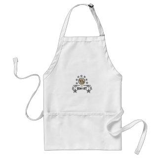 shoot out western art standard apron