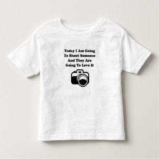 Shoot Someone Camera Toddler T-Shirt