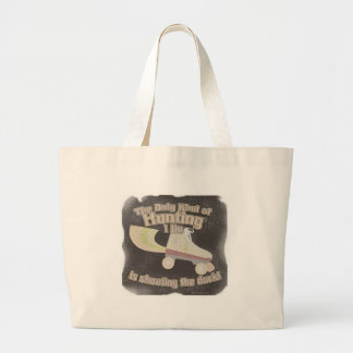 Shoot the Duck Large Tote Bag