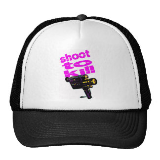 Shoot to kill cap