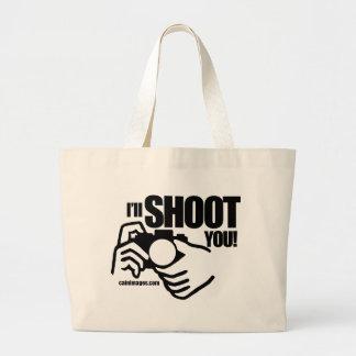 Shoot You BW Bag