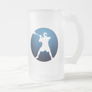 Shooter Frosted Glass Beer Mug