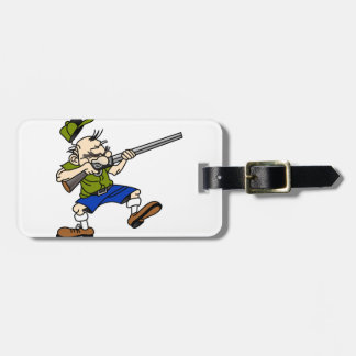 Shooter Luggage Tag