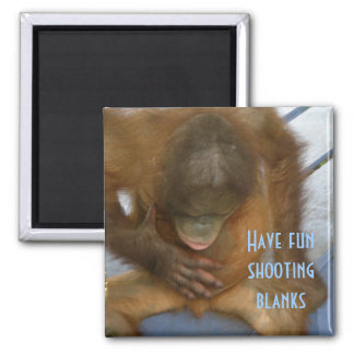 Shooting Blanks Elective Surgery Square Magnet