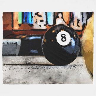 Shooting For The Eight Ball Fleece Blanket