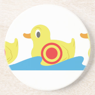 Shooting Gallery Ducks Drink Coaster