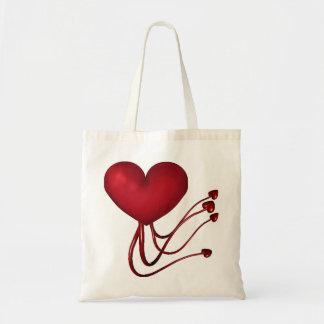 Shooting Hearts Tote Bag