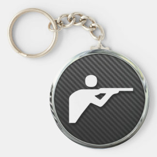 Shooting Icon Key Ring