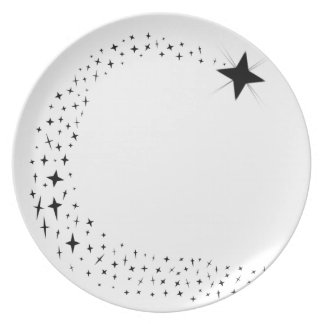 Shooting Star Cluster Plate