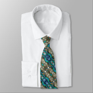 Shooting Star Kaleidoscope Tie