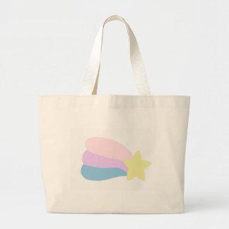Shooting Star Large Tote Bag