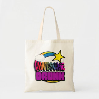 Shooting Star Rainbow Awesome Drunk Tote Bag