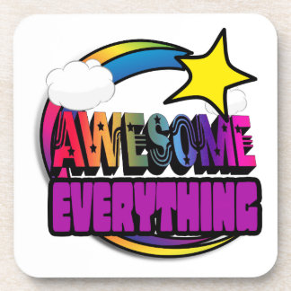 Shooting Star Rainbow Awesome Everything Beverage Coasters