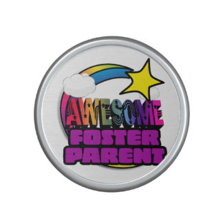 Shooting Star Rainbow Awesome Foster Parent Speaker
