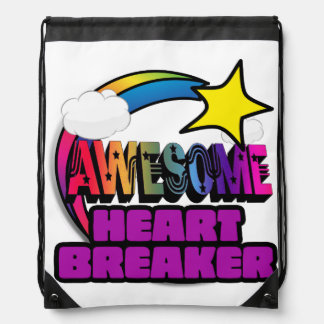 Shooting Star Rainbow Awesome Heart Breaker Rucksack