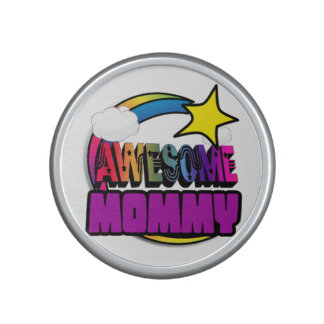 Shooting Star Rainbow Awesome Mommy Bluetooth Speaker