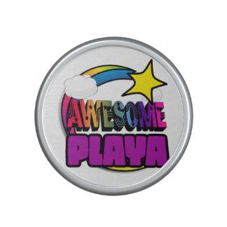 Shooting Star Rainbow Awesome Playa Bluetooth Speaker