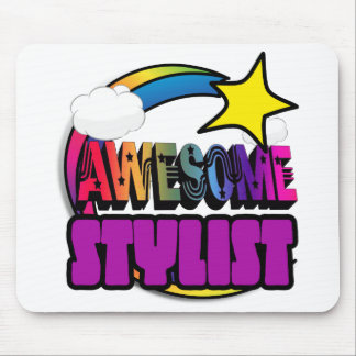 Shooting Star Rainbow Awesome Stylist Mouse Pads