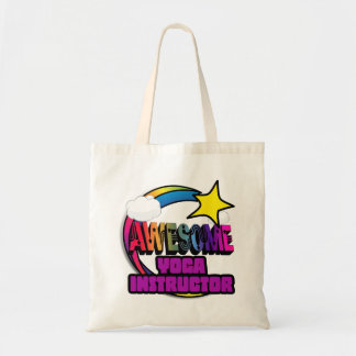 Shooting Star Rainbow Awesome Yoga Instructor Canvas Bag