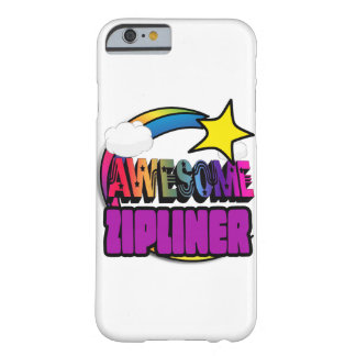 Shooting Star Rainbow Awesome Zipliner Barely There iPhone 6 Case