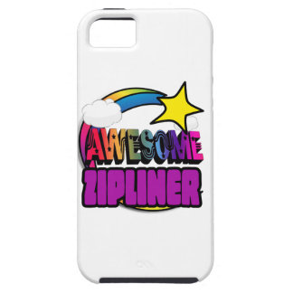 Shooting Star Rainbow Awesome Zipliner iPhone 5/5S Covers