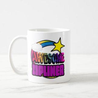 Shooting Star Rainbow Awesome Zipliner Coffee Mug