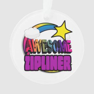 Shooting Star Rainbow Awesome Zipliner