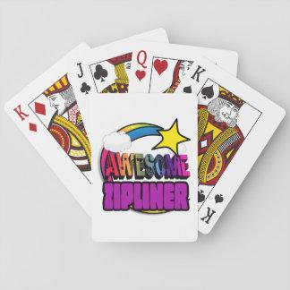 Shooting Star Rainbow Awesome Zipliner Card Deck