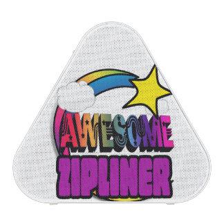 Shooting Star Rainbow Awesome Zipliner Bluetooth Speaker