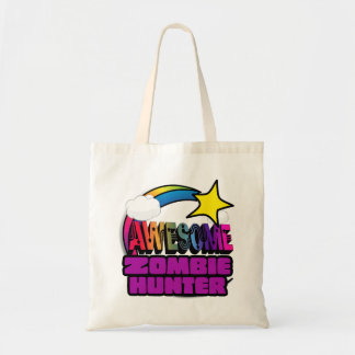 Shooting Star Rainbow Awesome Zombie Hunter Canvas Bag