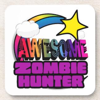 Shooting Star Rainbow Awesome Zombie Hunter Coasters