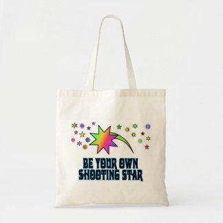 Shooting Star Tote Canvas Bag