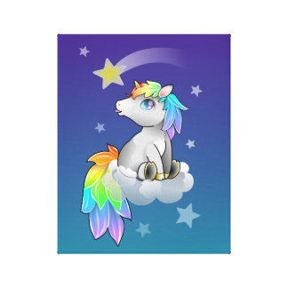 Shooting Star Wish Unicorn Room Decor