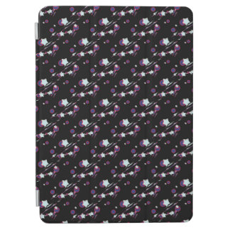 Shooting Stars and Comets Black Tablet Cover iPad Air Cover