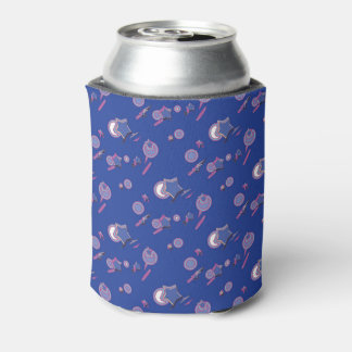 Shooting Stars and Comets Blue Soda Sleeve / Cozy Can Cooler
