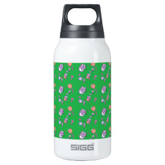 Shooting Stars & Comets Lime Green Bottle