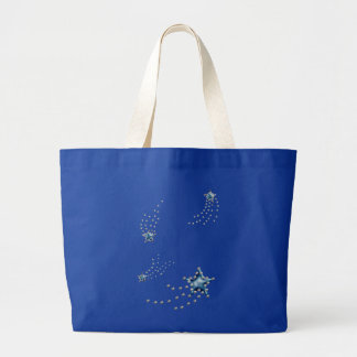 shooting stars canvas bags